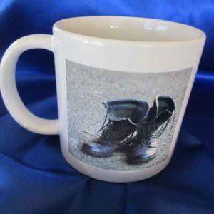 Boots on the Ground coffee mug